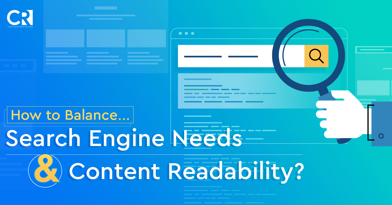 How to balance search engine needs and content readability